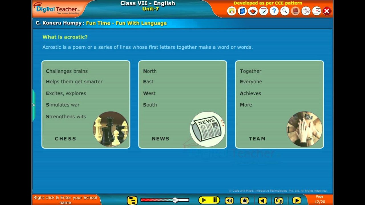 THE ACROSTIC WORD GAME BEAR IN MIND CO. EMKATA