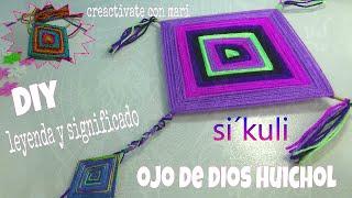 Скачать Cómo Hacer Mandalas Ojo De Dios Huichol Y Significado
