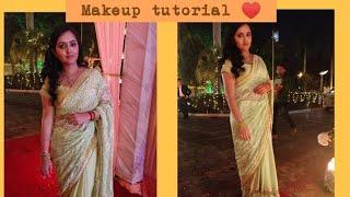 INDIAN WEDDING GUEST MAKEUP TUTORIAL| Shaadi saga| Simple and easy makeup| Anupama nainwal ♥️✌️