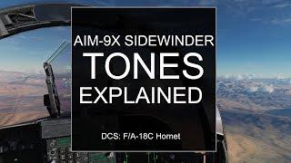 Hornet AIM-9X Tones Explained!