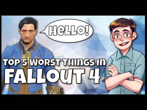 Top 5 WORST Things In Fallout 4 - Syy