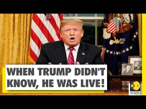 What happened, when Trump didn't know he was already LIVE ! | Some Unseen Footages | US President