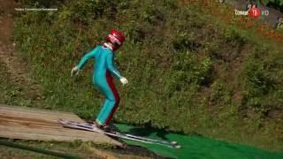 12.07.2016 Тренировка прыжков с трамплина