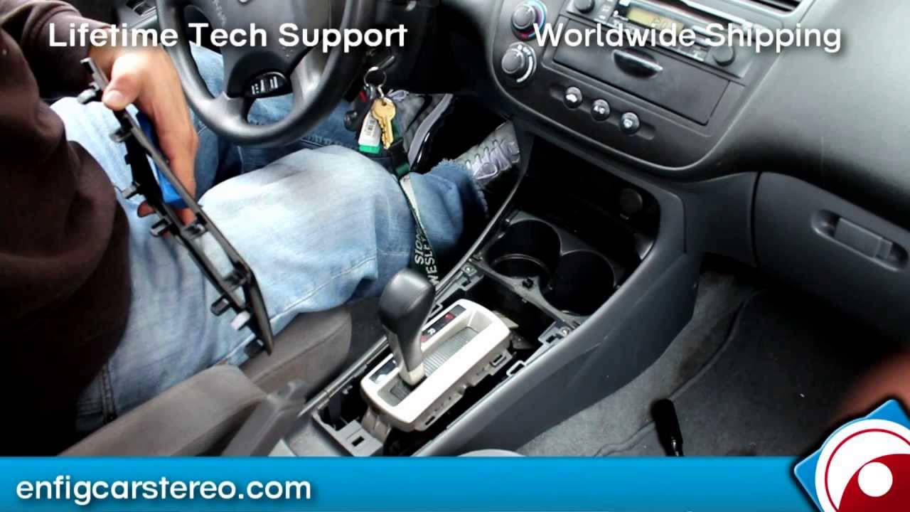 Aux Audio Input For 2003 05 Hondaacura Youtube