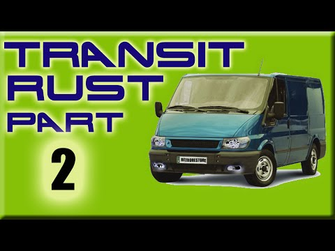 Ford Transit Mk6 Rust Repairs Welding Access And Front Grill Part 2