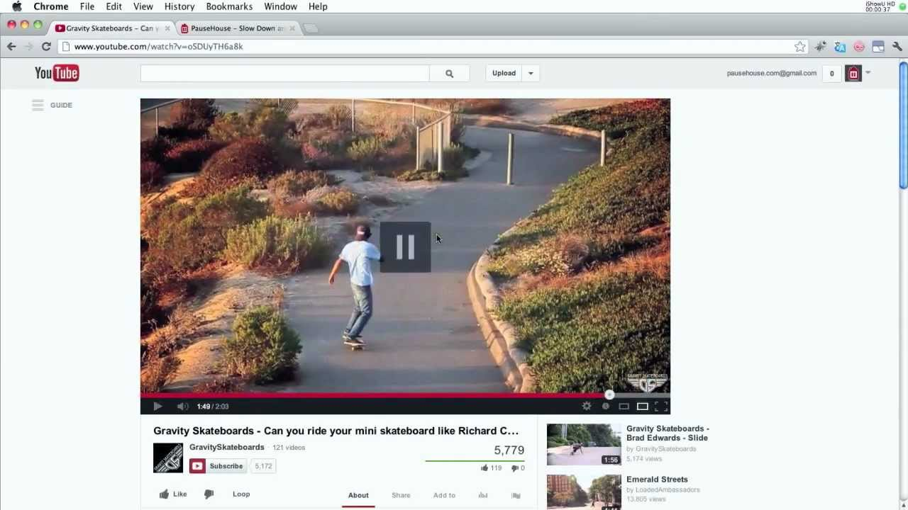 How to Slow Down Youtube Videos and Frame by Frame Playback (no ...