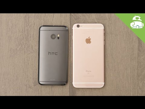 HTC 10 vs Apple iPhone 6s/Plus quick look