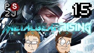 Metal Gear Rising: Revengance EP 15 - 55 Gallon Drum of Ninja