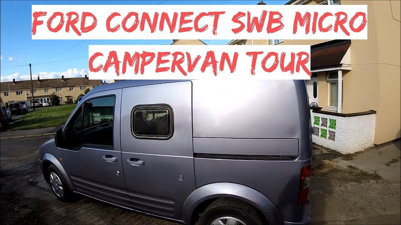 Ford Transit Connect Camper >> Ford Connect Swb Micro Campervan Conversion Tour