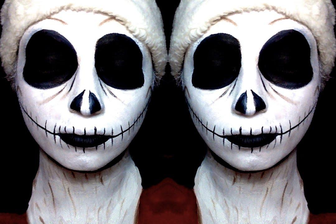Santa Jack Skellington| Nightmare Before Christmas| Makeup ...