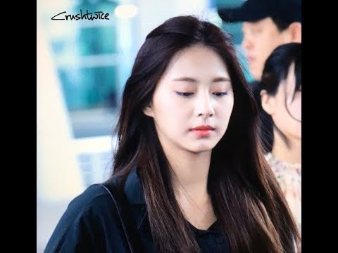 180319 Tzuyu Twice ( 트와이스 ) arrival to INC Airport from Phuket Thailand