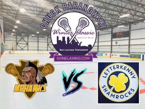 Game 12  - Kahnawake Mohawks vs Letterkenny Shamrocks