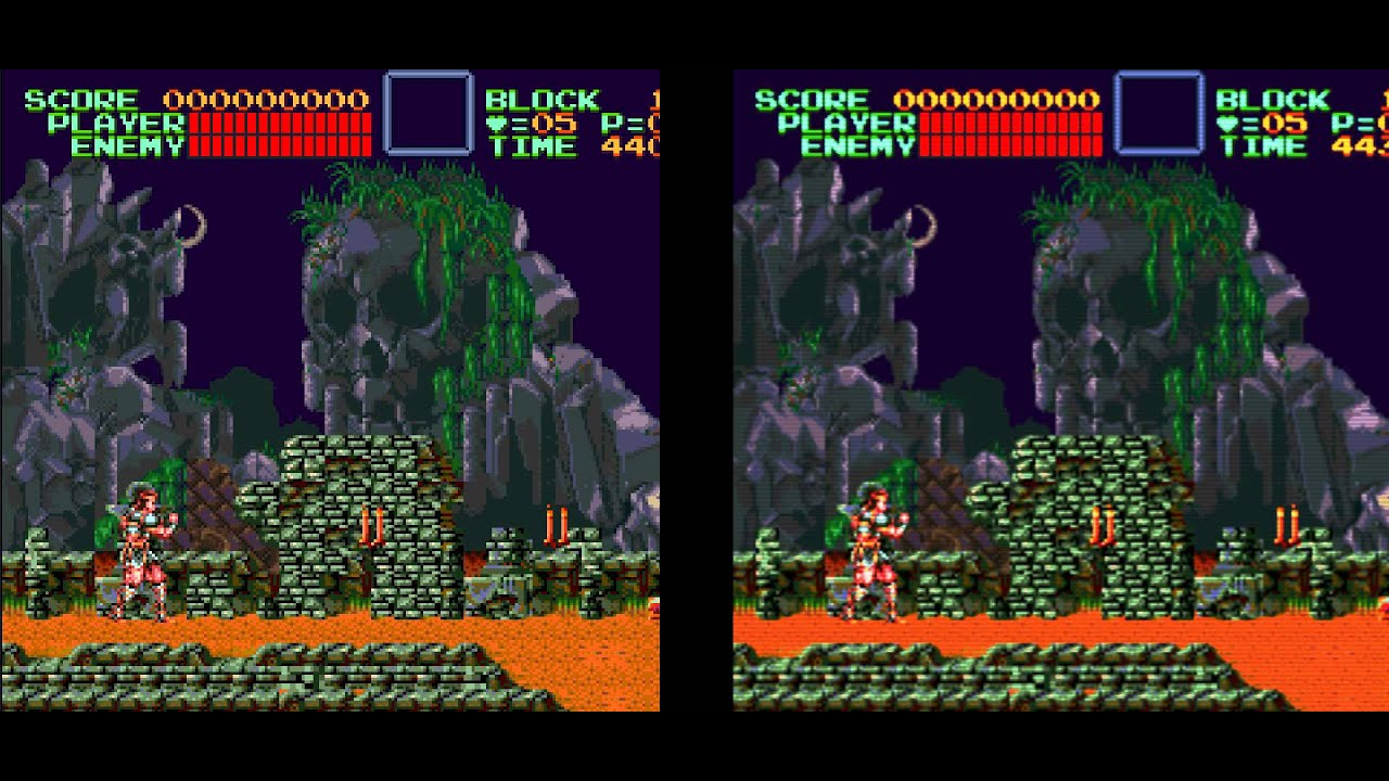 My favourite Hlsl shader for Mame : Snes9x + Bsnes Shader
