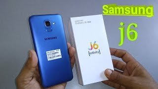 UNBOXING Samsung Galaxy J6 (Blue, 4GB RAM, 64GB Storage) with Offers on Flipkart