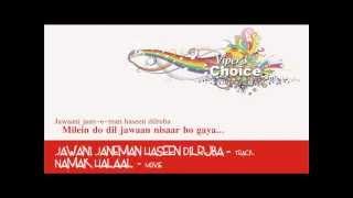Jawani Janeman Haseen Dilruba - Namak Halaal