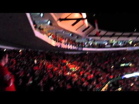 Star Spangled Banner at the United Center (3/16/14)