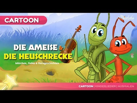 Die Ameise und die Heuschrecke märchen | Gutenachtgeschichte für kinder