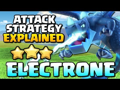Electrone Attack Strategy Explained!! Electro Dragon Technique with Crunch Gaming - Clash of Clans!