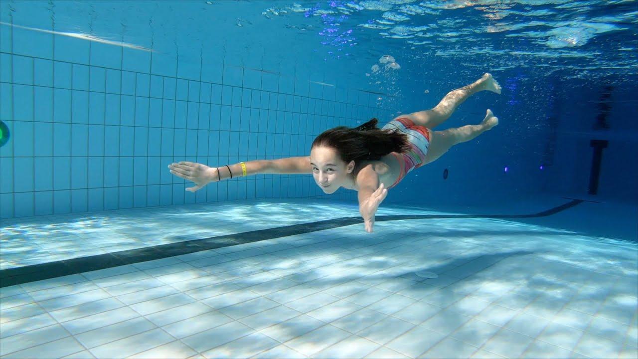 Carla Underwater My last swim 2019