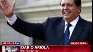 Ex presidente de Perú, Alan García se dispara en la cabeza para evitar arresto por caso Odebrecht