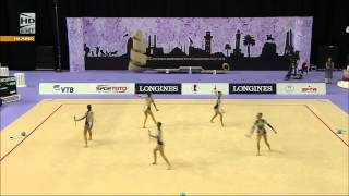 Bulgaria - Dundee - Rhythmic Gymnastics World Cup 2014 Izmir