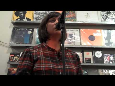 """The Blizzard"" by Camera Obscura @ Other Music In-Store"
