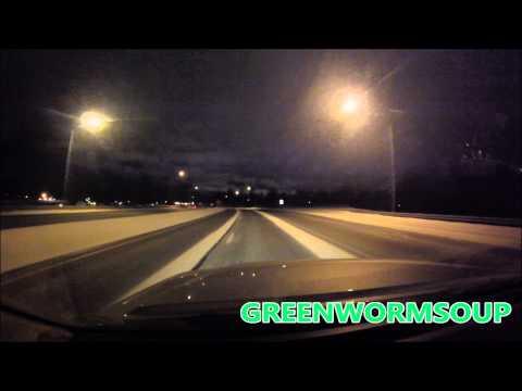 ANCHORAGE ALASKA NIGHT DRIVE - Gopro Hero Camera