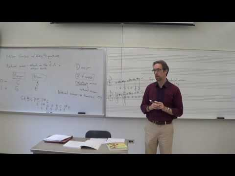 Dr. B Music Theory Lesson 2 (Minor scales, Intervals)