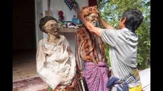 Repeat youtube video โลกตะลึง! หมู่บ้าน ซอมบี้ มีอยู่จริง ปลุกศพให้เดิน น่าขนลุกสุดๆ!