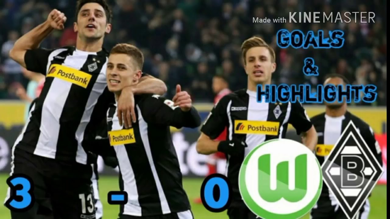 Download Wolfsburg Vs Gladbach 3-0 All Goals & Highlights 1 Bundesliga 16 Spieltag ( 03 12 2017 )