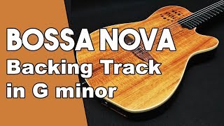 Bossa Nova Baking Track in Gm