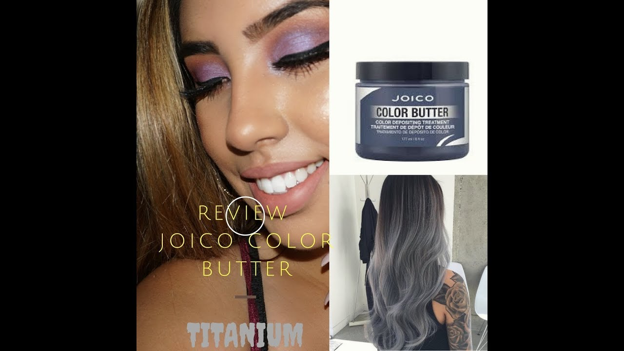 Joico color butter titanium reviewhaul youtube joico color butter titanium reviewhaul nvjuhfo Image collections