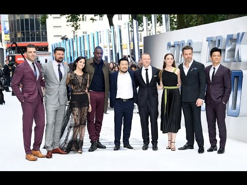 Star Trek Beyond UK Premiere Red Carpet - Chris Pine, Zachary Quinto, Karl Urban, Idris Elba