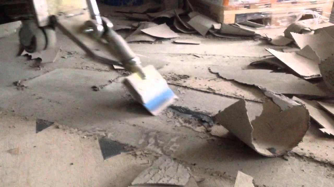 Pvc Vloer Beton : Vloersterk pvc stroken snel verwijderen youtube