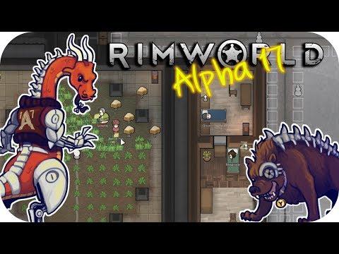 Rimworld Alpha 17 - 6. Flu Season - Let's Play Rimworld Gameplay