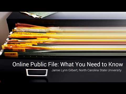 Online Public File: What You Need to Know