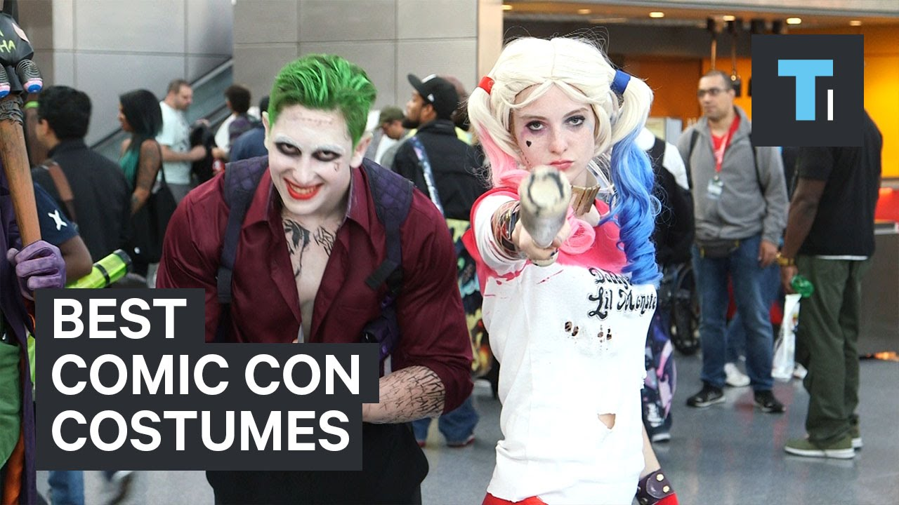 Best Comic Con Costumes Youtube