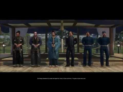 Shogun 2 Fall of the Samurai Saga Lets Play Episode 1 ( Intro and Naval Battle ) |