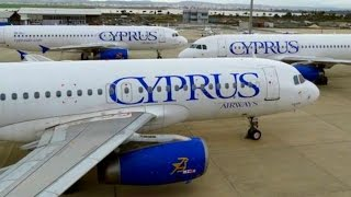 My Last Flight with Cyprus Airways | CY337 Athens-Larnaca | Airline Closed | A320 Takeoff/Landing