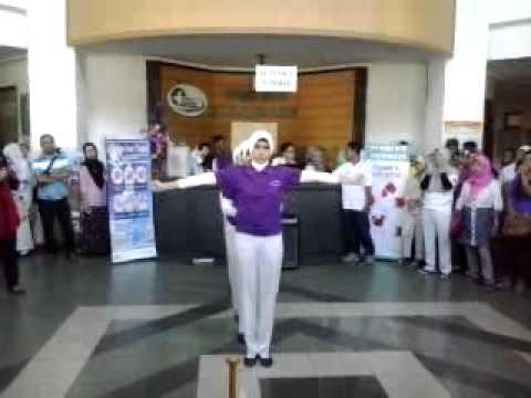 Lomba Dance Kreasi cuci Tangan 6 langkah RSUD Ulin Banjarmasin