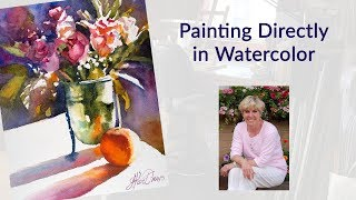 Painting Directly in Watercolor
