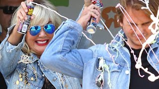 Kris Jenner Dons a Blonde Wig and Looks Just Like Tori Spelling!