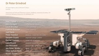 [Science Week 2016] Selecting the landing site for 2018 ExoMars rover