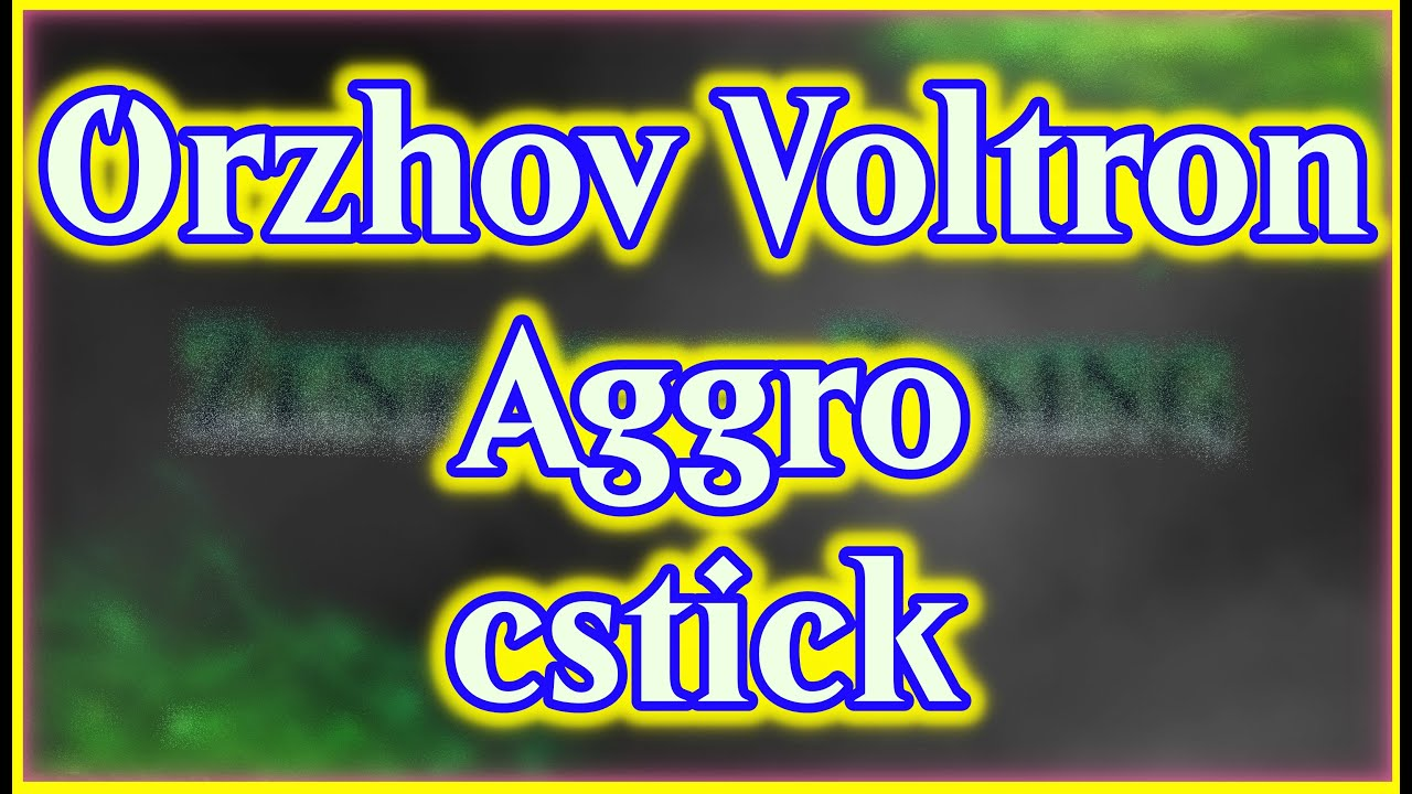 Orzhov Voltron Aggro Cstick Youtube 25 decks (0.006%) rank #165. youtube