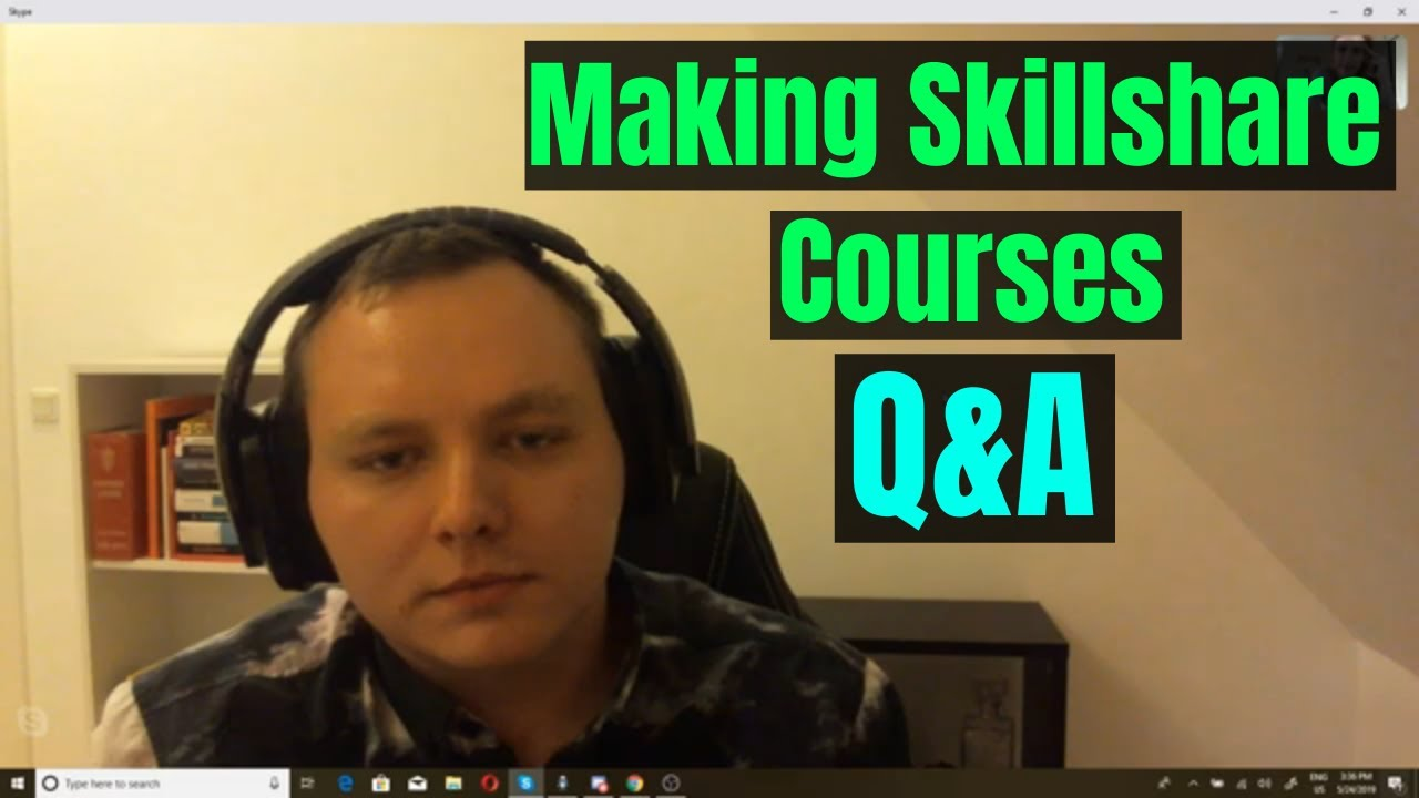 Questions and Answers About Making Skillshare Courses