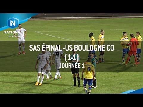 J1 : SAS Épinal – US Boulogne C0 (1-1), le résumé