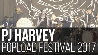 PJ Harvey - The Community of Hope // Let England Shake // In the Dark Places (Popload Festival 2017)
