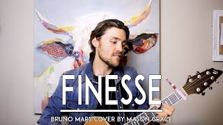 Finesse - Bruno Mars 24K Magic (Live Acoustic Cover) Country Remix