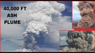 4 VOLCANOES ERUPT! 9K TO 40,000 FT ASH PLUMES: RUSSIA-PHILIPPINES-NEW GUINEA-COSTA RICA (12/10/2018)