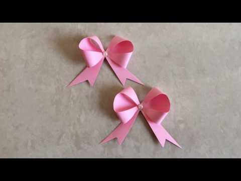 Easy and Simple Paper Bow / Ribbon 🎀 | Priti Sharma